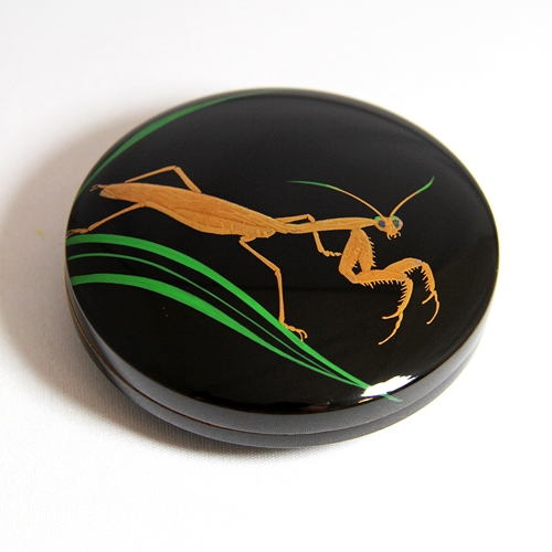 incense container/jewel case -カマキリ(mantis)- #1