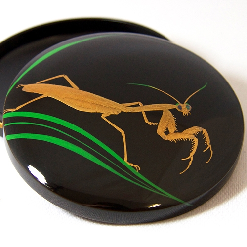 incense container/jewel case -カマキリ(mantis)- #2